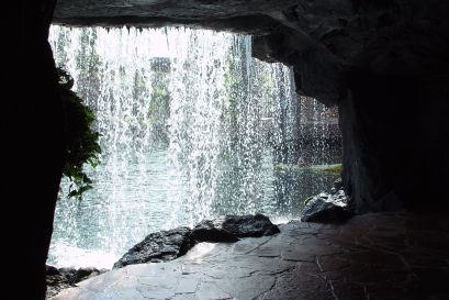 waterfall, cave waterfall, cave, epic read, great read, new novel, blog series, Tuesday blog, river, water, pool, summer, trip, tunnel, fantasy read, mystery read, YA read,